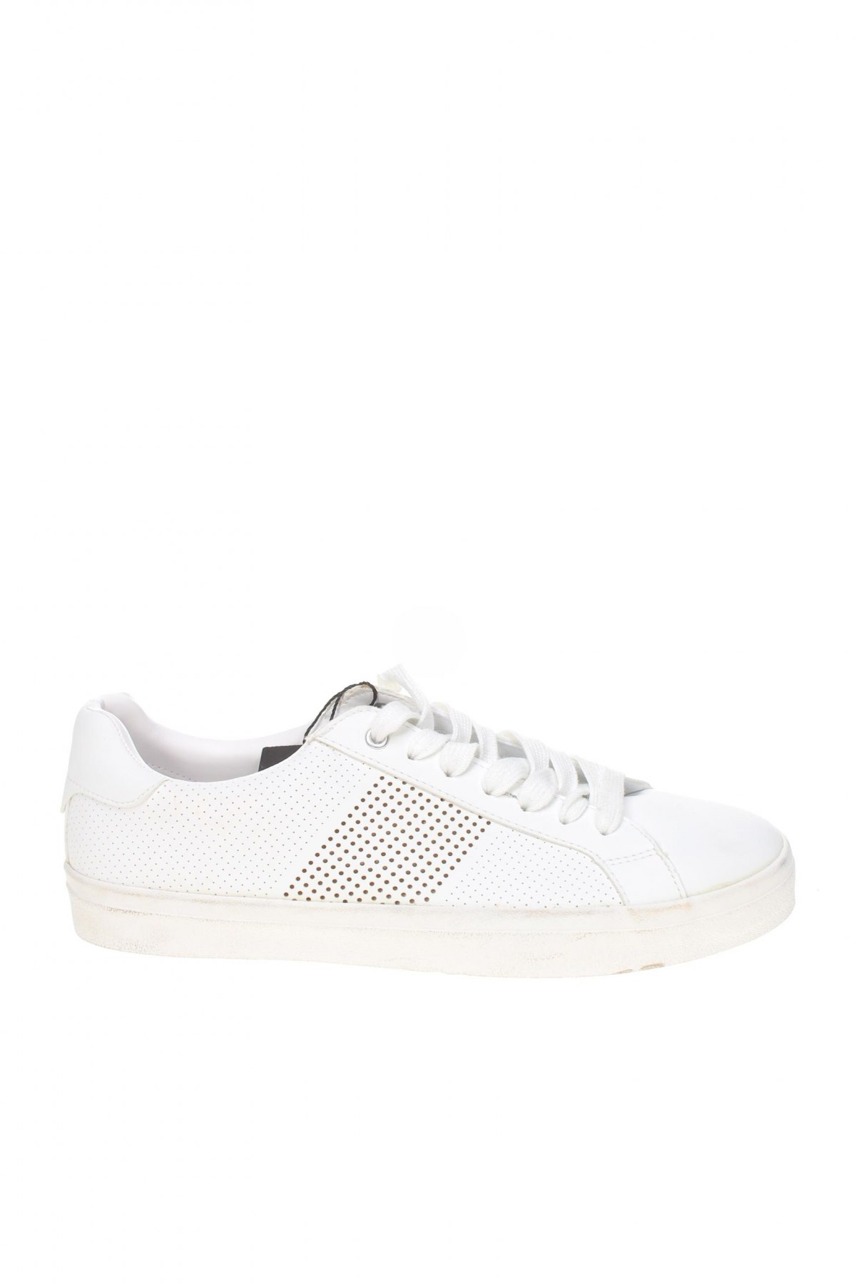 Мъжки обувки Zara Man, Размер 40, Цвят Бял, Еко кожа, Цена 23,65лв.