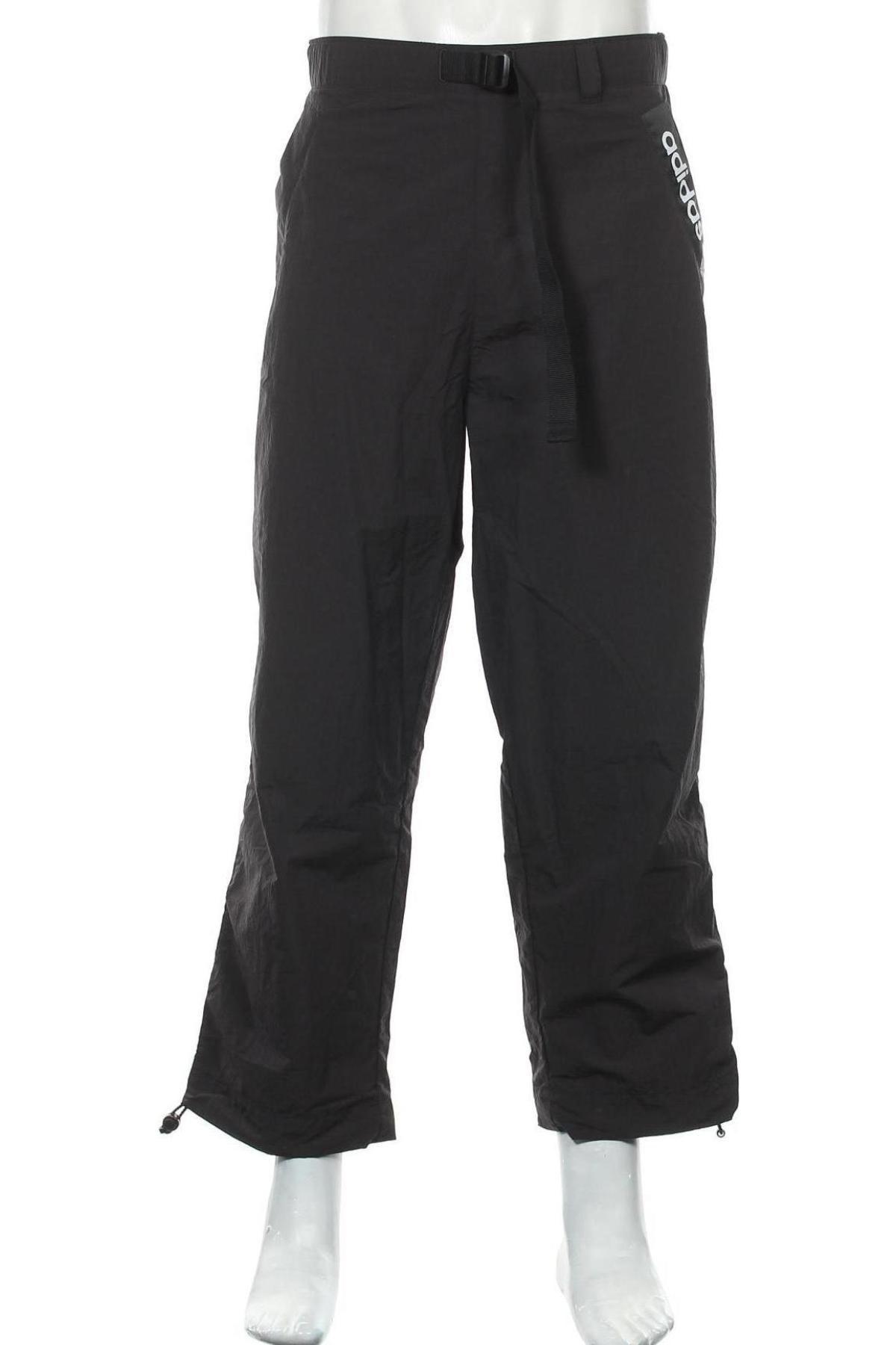 Pantaloni trening de bărbați Adidas Originals, Mărime L, Culoare Negru, Poliamidă, Preț 318,26 Lei