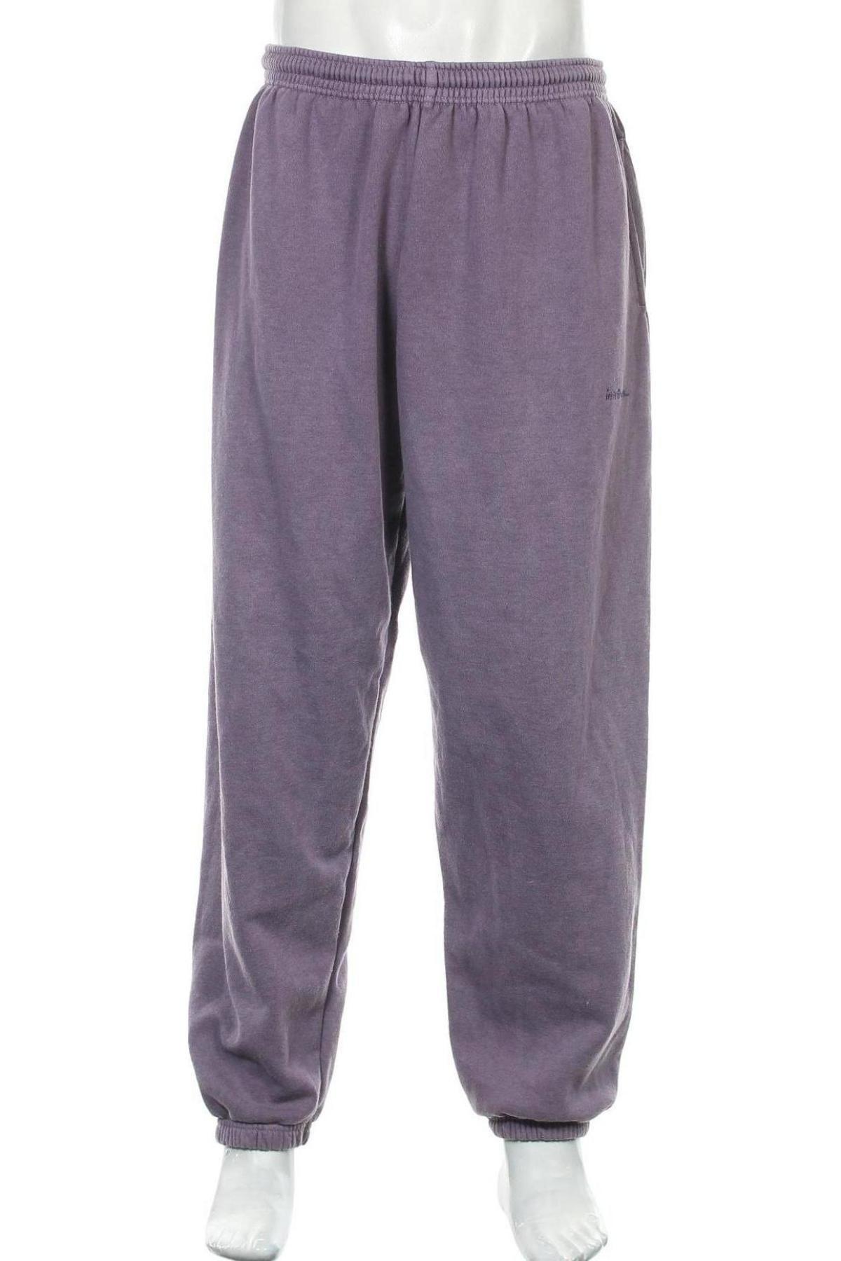 Мъжко спортно долнище Urban Outfitters, Размер XL, Цвят Лилав, 79% памук, 21% полиестер, Цена 55,50лв.