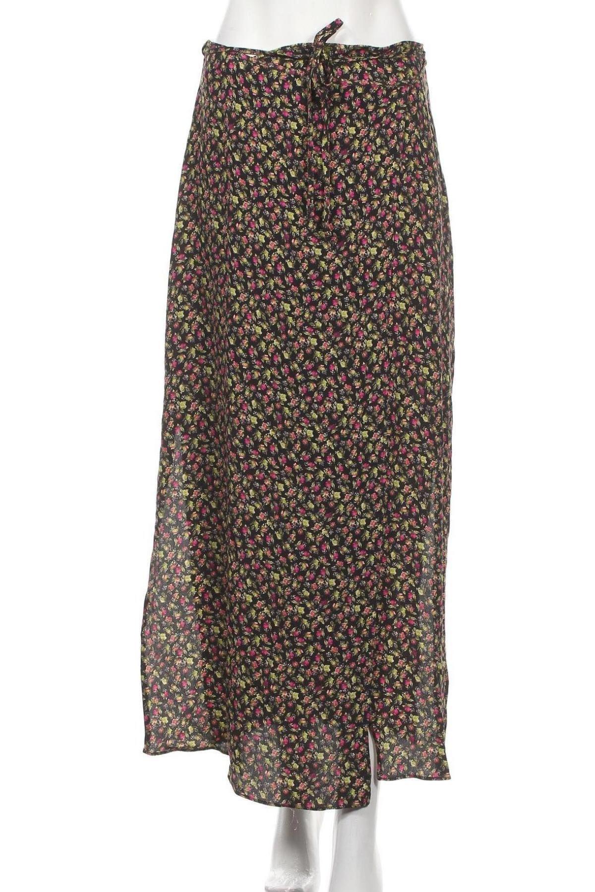 Пола Urban Outfitters, Размер S, Цвят Многоцветен, Вискоза, Цена 7,01лв.