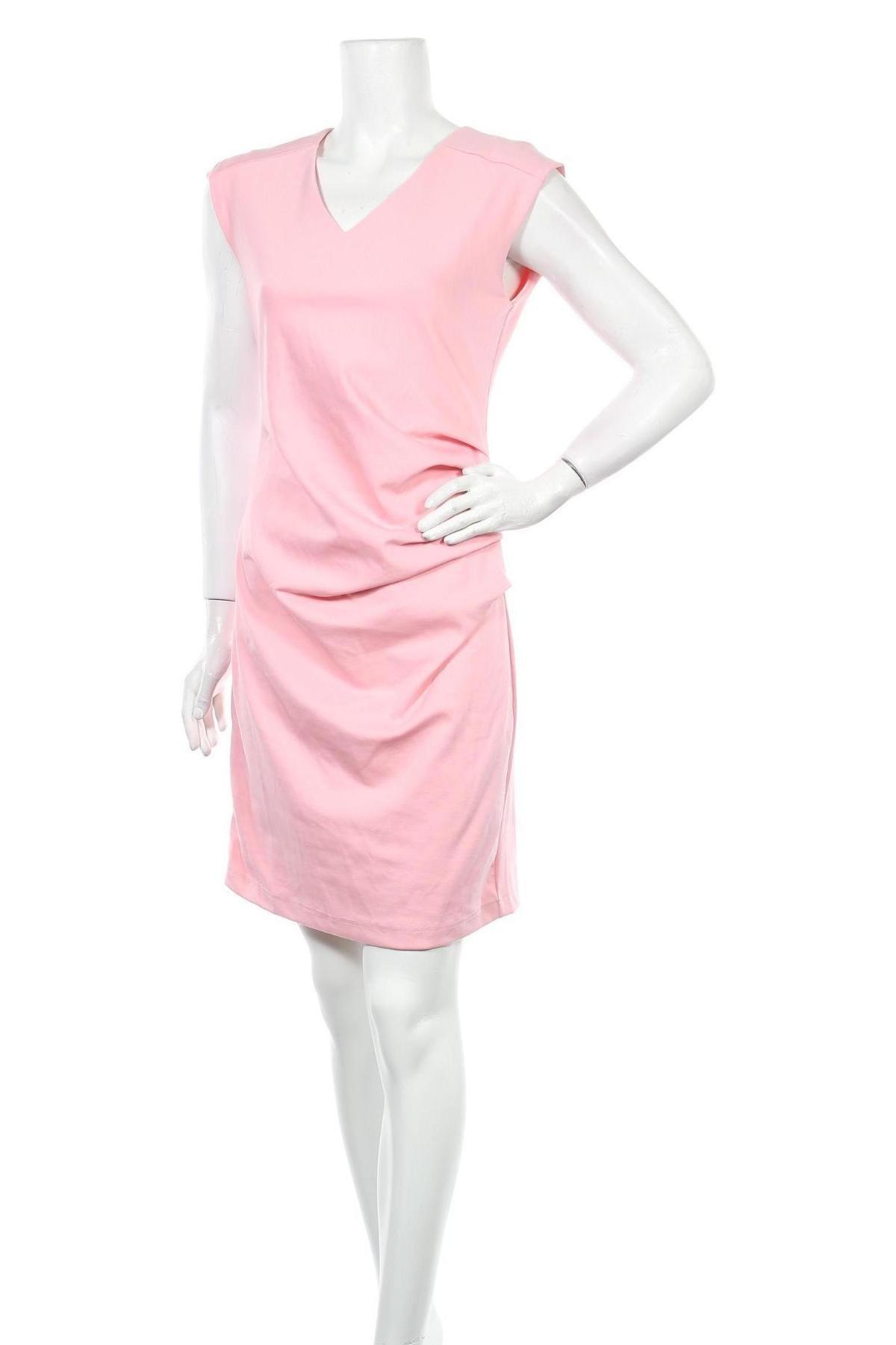 Φόρεμα Kaffe, Μέγεθος S, Χρώμα Ρόζ , 80% πολυεστέρας, 17% βισκόζη, 3% ελαστάνη, Τιμή 57,60€