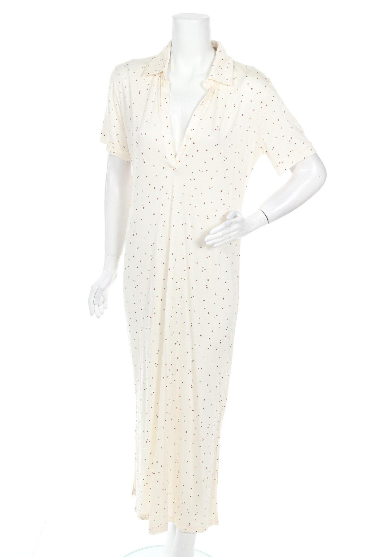 Φόρεμα Lounge Nine, Μέγεθος M, Χρώμα Εκρού, Τιμή 53,74€