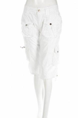 Дамски панталон Chicoree, Размер L, Цвят Бял, Памук, Цена 6,24лв.