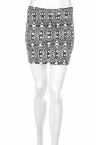 Φούστα H&M Divided, Μέγεθος M, Χρώμα Λευκό, 68% βαμβάκι, 30% πολυεστέρας, 2% ελαστάνη, Τιμή 2,78€