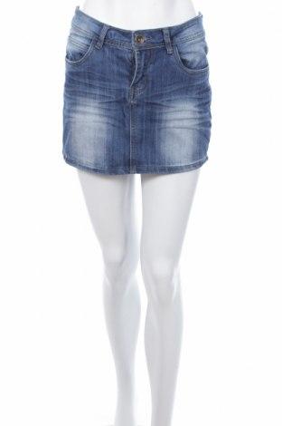Φούστα Vert De Rage, Μέγεθος M, Χρώμα Μπλέ, 68% βαμβάκι, 31% πολυεστέρας, 1% ελαστάνη, Τιμή 2,01€