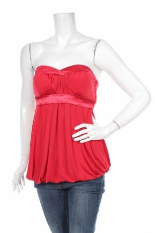 Γυναικείο αμάνικο μπλουζάκι Floyd By Smith, Μέγεθος M, Χρώμα Κόκκινο, 94% πολυεστέρας, 6% ελαστάνη, Τιμή 2,32€