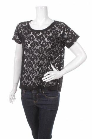 Дамска блуза H&M, Размер S, Цвят Черен, Полиестер, Цена 4,00лв.