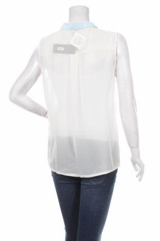 Γυναικείο πουκάμισο Bik Bok, Μέγεθος L, Χρώμα Εκρού, Πολυεστέρας, Τιμή 13,61€