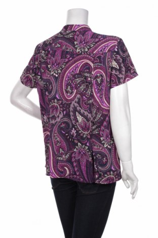 Γυναικείο πουκάμισο Dana Buchman, Μέγεθος L, Χρώμα Πολύχρωμο, 100% πολυεστέρας, Τιμή 11,13€