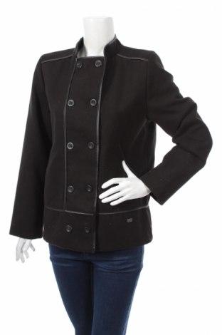 Дамско палто Fil D'ecume, Размер L, Цвят Черен, Полиестер, Цена 32,00лв.