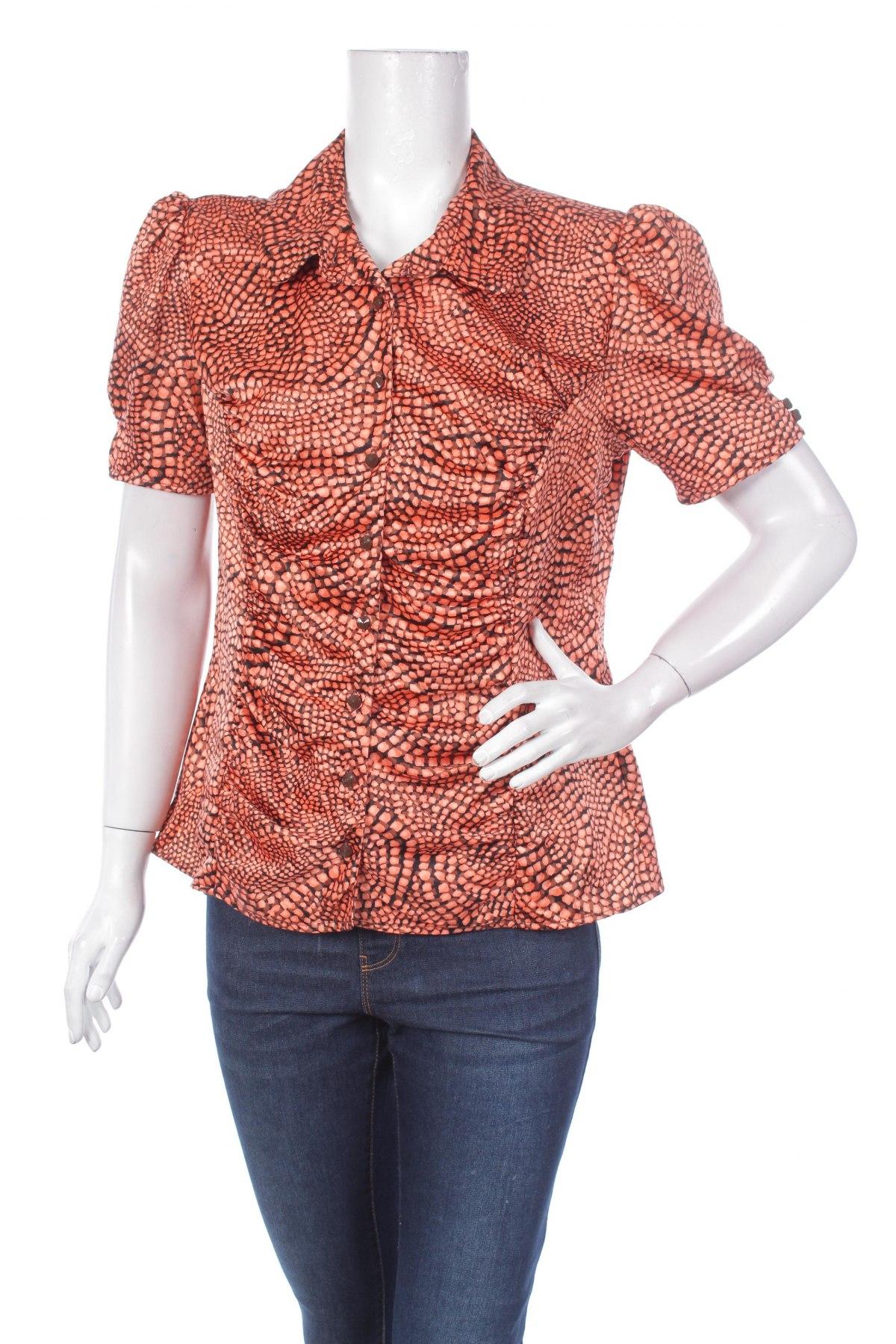 Γυναικείο πουκάμισο Mixit, Μέγεθος L, Χρώμα Πορτοκαλί, 100% πολυεστέρας, Τιμή 11,13€