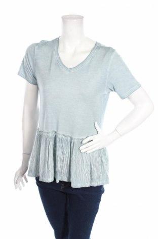 Дамска блуза Alya, Размер M, Цвят Син, 75% вискоза, 25% полиамид, Цена 6,00лв.
