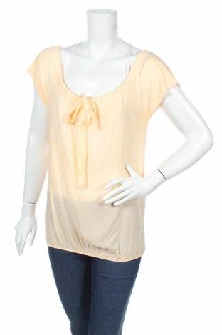 Дамска блуза Amy & Ivy, Размер S, Цвят Оранжев, Вискоза, Цена 5,75лв.