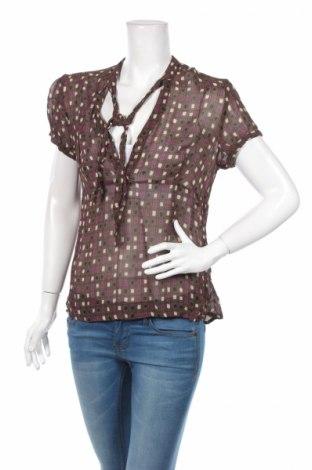 Γυναικεία μπλούζα Bon'a Parte, Μέγεθος L, Χρώμα Καφέ, Τιμή 2,71€