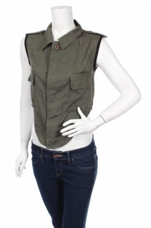 Дамска риза White, Размер S, Цвят Зелен, Памук, Цена 7,75лв.