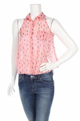 Дамска риза Bershka, Размер S, Цвят Многоцветен, Цена 5,50лв.