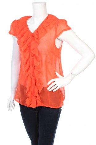 Γυναικείο πουκάμισο Clockhouse, Μέγεθος M, Χρώμα Πορτοκαλί, Τιμή 3,88€