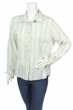 Дамска риза Green House, Размер L, Цвят Зелен, 46% полиестер, 19% полиамид, 35% памук, Цена 5,25лв.