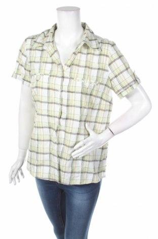Γυναικείο πουκάμισο Infinity, Μέγεθος L, Χρώμα Πολύχρωμο, 55% βαμβάκι, 45% πολυεστέρας, Τιμή 3,90€