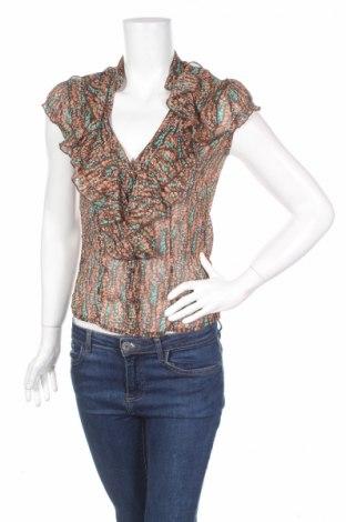 Дамска риза Jane Norman, Размер M, Цвят Многоцветен, 100% полиестер, Цена 7,15лв.