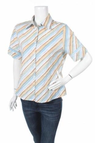 Дамска риза La Strada, Размер L, Цвят Многоцветен, 65% полиестер, 35% памук, Цена 7,15лв.