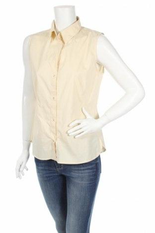 Дамска риза Marc Aurel, Размер L, Цвят Бежов, 65% памук, 30% полиамид, 5% еластан, Цена 10,08лв.