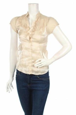 Γυναικείο πουκάμισο New Look, Μέγεθος S, Χρώμα  Μπέζ, 80% βισκόζη, 20% πολυεστέρας, Τιμή 3,69€