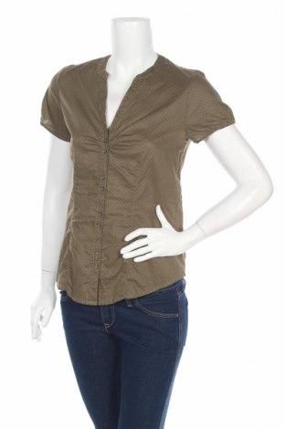 Дамска риза Yessica, Размер S, Цвят Зелен, 100% памук, Цена 6,79лв.
