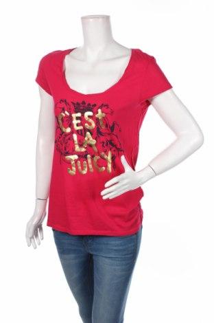Γυναικείο t-shirt Juicy Couture, Μέγεθος M, Χρώμα Κόκκινο, Τιμή 6,81€