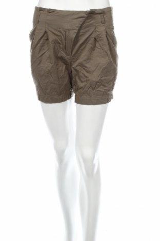 Дамски къс панталон Aniston, Размер XS, Цвят Зелен, Памук, Цена 3,04лв.