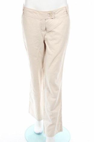 Дамски панталон Clockhouse, Размер M, Цвят Бежов, 55% лен, 45% памук, Цена 6,38лв.