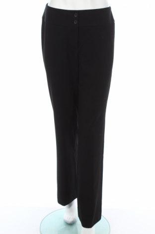 Дамски панталон Jones New York, Размер M, Цвят Черен, 47% полиестер, 47% вискоза, 6% еластан, Цена 6,40лв.