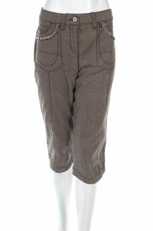Дамски панталон Marc Aurel, Размер M, Цвят Кафяв, 50% памук, 25% вискоза, 25% полиестер, Цена 44,46лв.