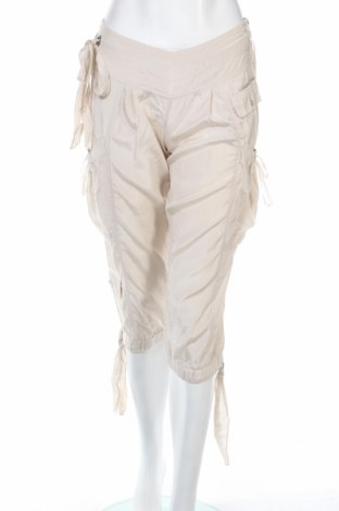 Дамски панталон Monton, Размер XS, Цвят Бежов, Цена 7,00лв.