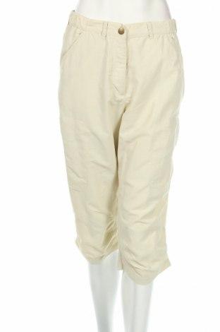 Дамски панталон Tom Hanbury, Размер S, Цвят Екрю, Полиамид, Цена 4,50лв.