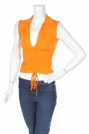 Дамски потник Angie, Размер S, Цвят Оранжев, 90% вискоза, 10% еластан, Цена 5,46лв.