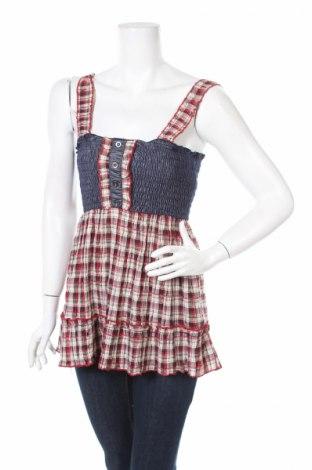 Γυναικείο αμάνικο μπλουζάκι Azaka, Μέγεθος M, Χρώμα Πολύχρωμο, Τιμή 2,84€