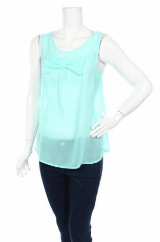 Γυναικείο αμάνικο μπλουζάκι Jbc, Μέγεθος S, Χρώμα Μπλέ, Τιμή 2,97€