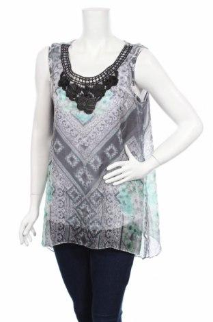 Γυναικείο αμάνικο μπλουζάκι Style & Co, Μέγεθος L, Χρώμα Πολύχρωμο, Πολυεστέρας, Τιμή 4,11€