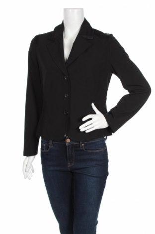 Дамско сако G.W., Размер M, Цвят Черен, 91% полиестер, 9% еластан, Цена 14,04лв.