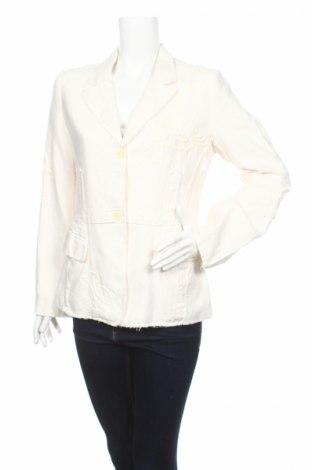 Дамско сако Rutzou, Размер L, Цвят Бял, Цена 83,20лв.