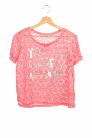 Детска блуза Charles Vogele, Размер 15-18y/ 170-176 см, Цвят Розов, Полиестер, Цена 4,50лв.