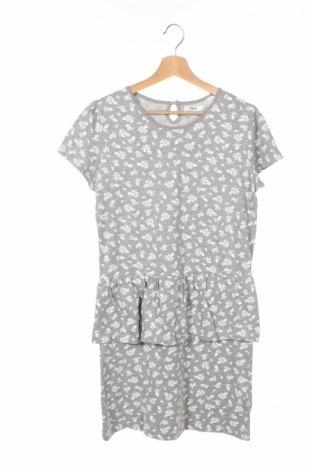 Детска рокля Bpc Bonprix Collection, Размер 14-15y/ 168-170 см, Цвят Сив, 85% памук, 15% полиестер, Цена 6,00лв.