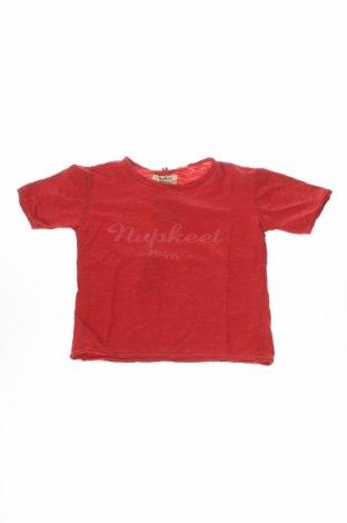 Detské tričko Nupkeet, Veľkosť 3-4y/ 104-110 cm, Farba Červená, Cena  9,74€