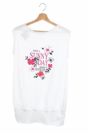 Детска туника Sunny Days, Размер 12-13y/ 158-164 см, Цвят Бял, Памук, Цена 10,01лв.