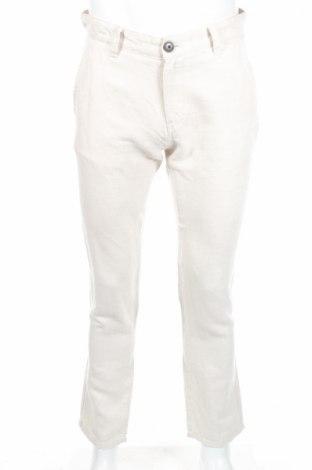 Pánske nohavice  Selected Homme, Veľkosť M, Farba Béžová, 55% ľan, 45% bavlna, Cena  12,80€