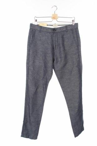 Pánske nohavice  Selected Homme, Veľkosť M, Farba Modrá, 52% bavlna, 48% ľan, Cena  15,52€