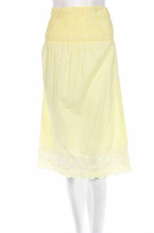 Пола Accessorize, Размер S, Цвят Жълт, 100% памук, Цена 3,00лв.