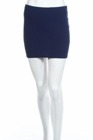 Пола Amisu, Размер XS, Цвят Син, 95% полиестер, 5% еластан, Цена 4,59лв.