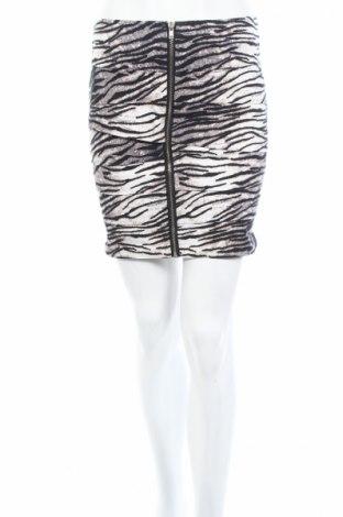 Пола Amisu, Размер XS, Цвят Многоцветен, 98% памук, 2% еластан, Цена 6,00лв.